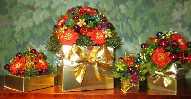 Christmas Bouquet Box - 9 pc