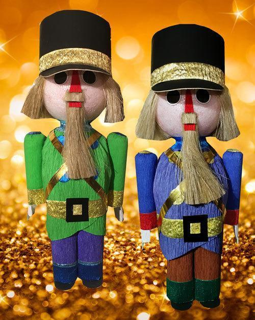 Nutcracker box - 2 and 8 pieces
