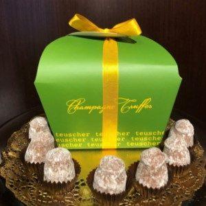 Champagne Truffles 1-pound Corbeille